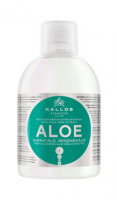 Șampon de păr hidratant, regenerant cu extract de Aloe Vera - Kallos KJMN