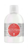 Șampon de păr multivitamin cu extract de ginseng și ulei de avocado - Kallos KJMN