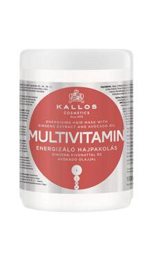 Kallos KJMN mască de păr multivitamin cu extract de ginseng și ulei de avocado
