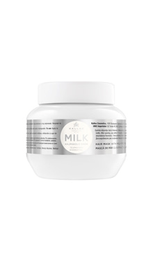 Kallos KJMN milk, mască de păr cu extract de lapte
