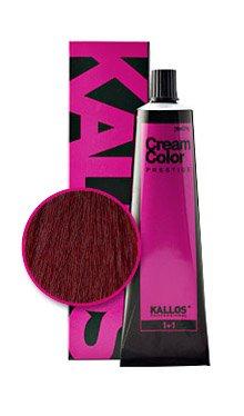 Vopsea cremă Kallos Colors Prestige 4.66
