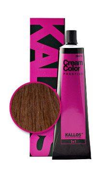 Vopsea cremă Kallos Colors Prestige 6.37
