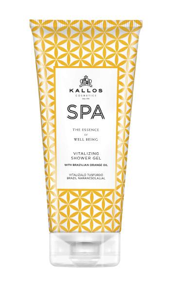Kallos Spa gel de duș vitalizant cu ulei de portocale din Brazilia