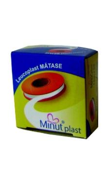 Leucoplast mătase -Minut 2.5/5m