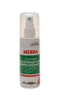 Loţiune antiperspirantă pentru picioare - Mebra