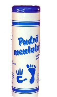 Pudră mentolată împotriva transpirației - Mebra