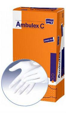 Mănuși de examinare, din latex S - Ambulex