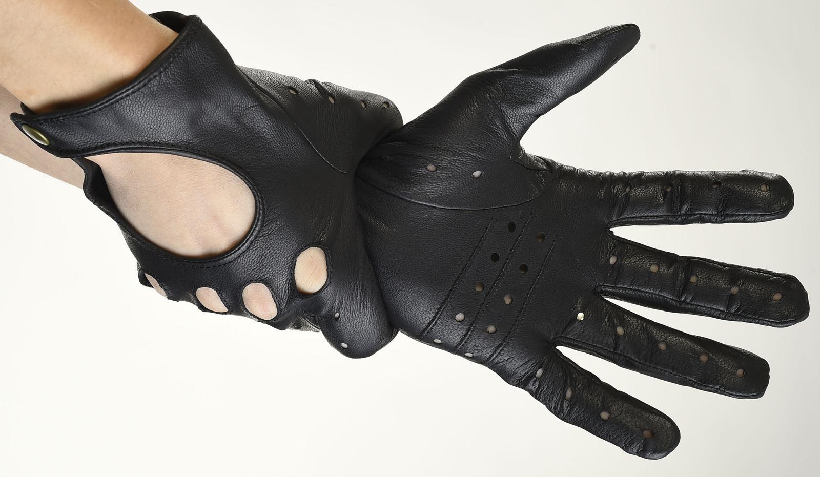 Mănuși din piele auto bărbați ABAuto001