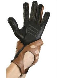 Mănuși din piele auto bărbați ABAuto101