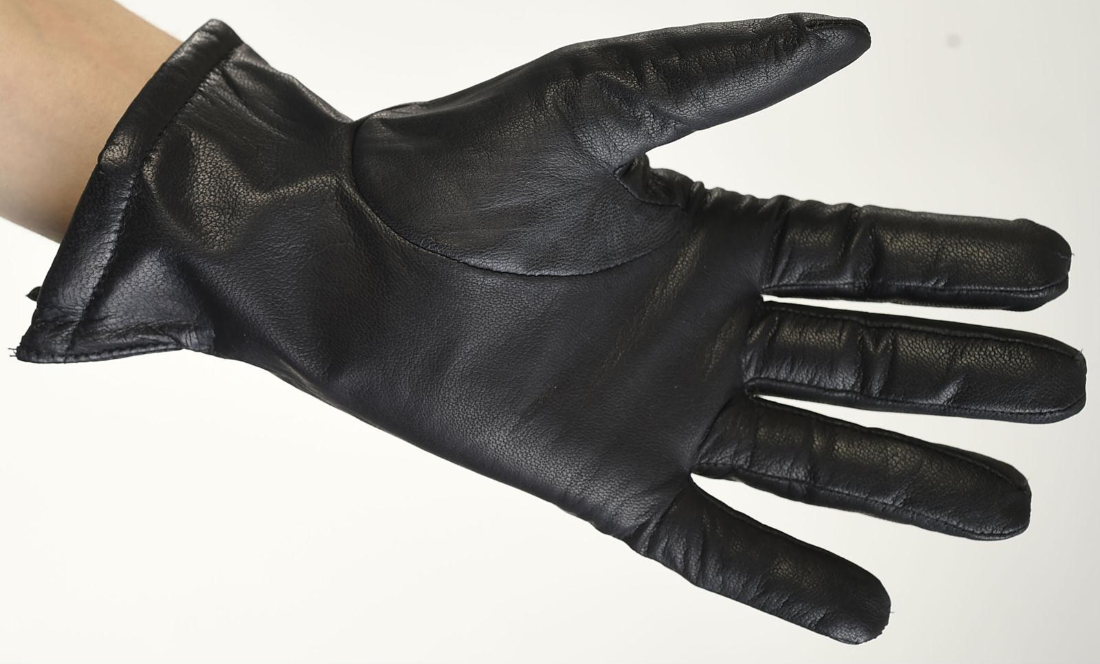 Mănuși din piele bărbați căptușit 1971ABF