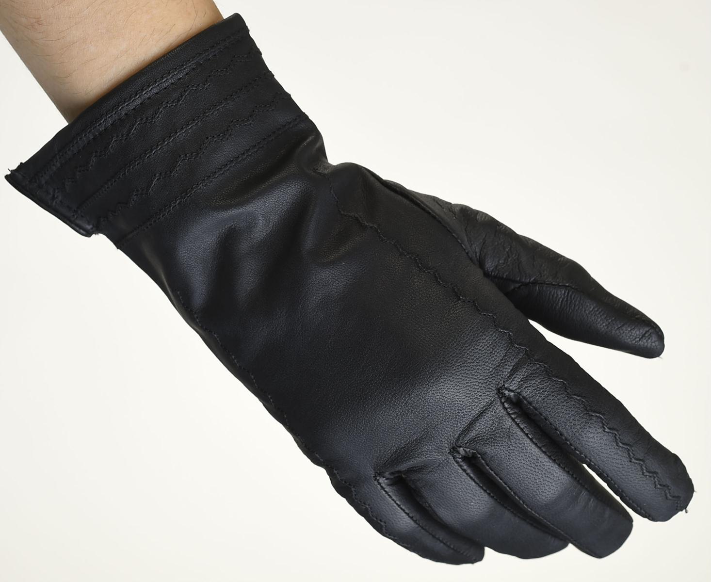 Mănuși din piele damă căptușit AF187FKV