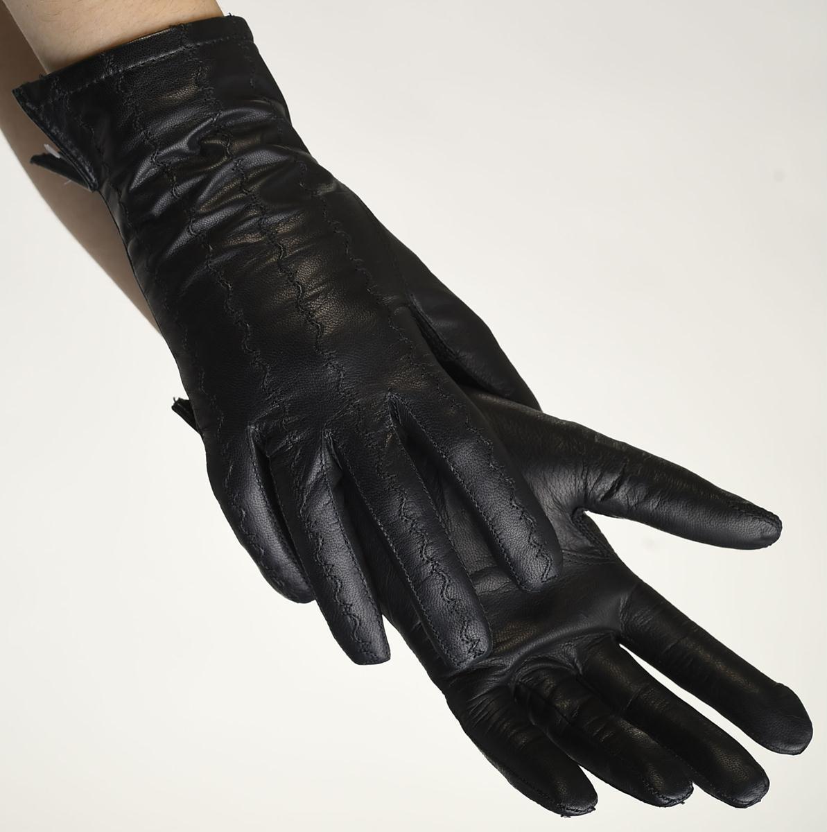 Mănuși din piele damă căptușit AF187FSV