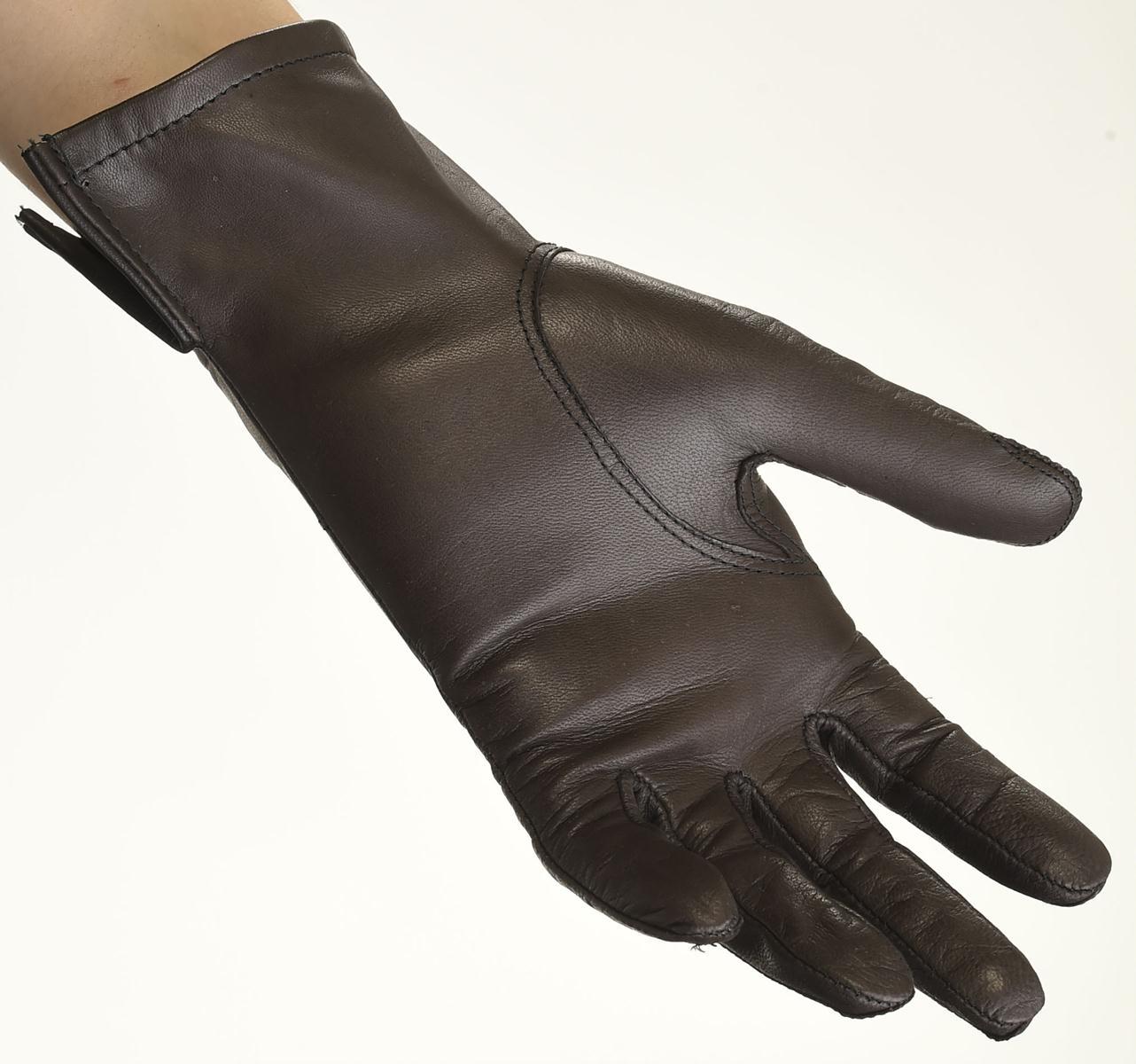 Mănuși din piele damă necăptușit AF181BGV