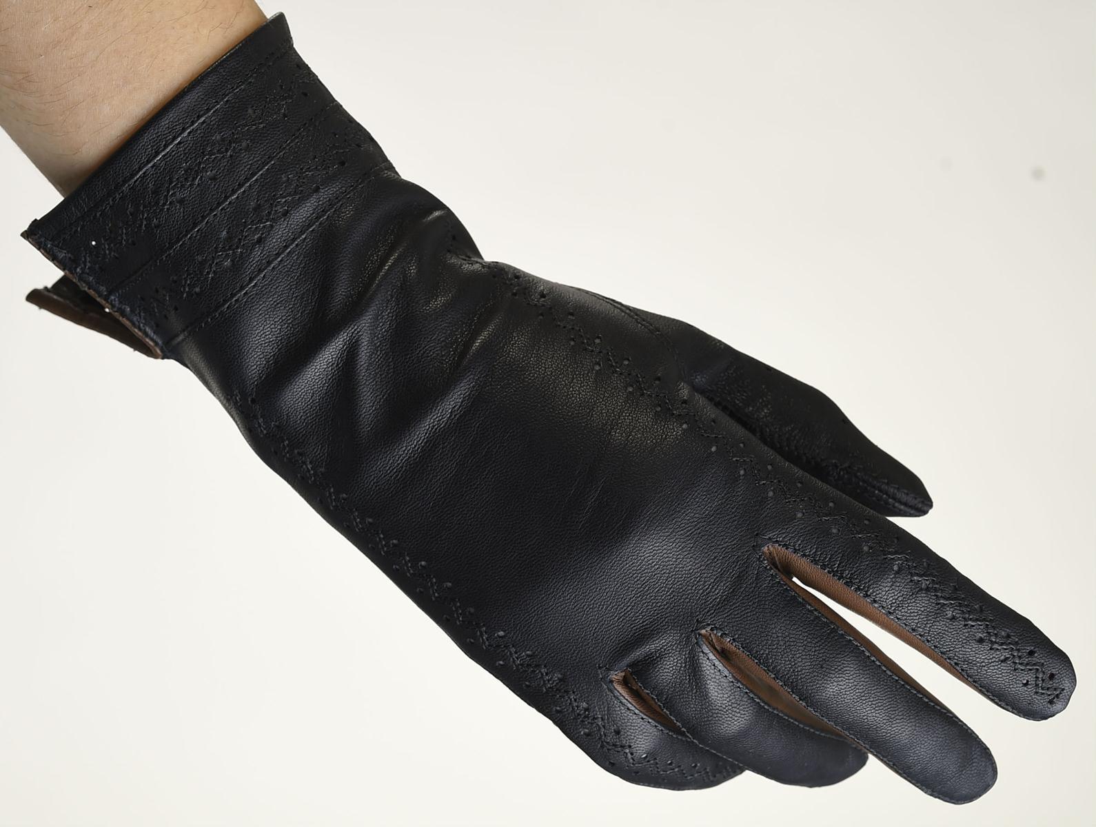 Mănuși din piele damă necăptușit AF181FB