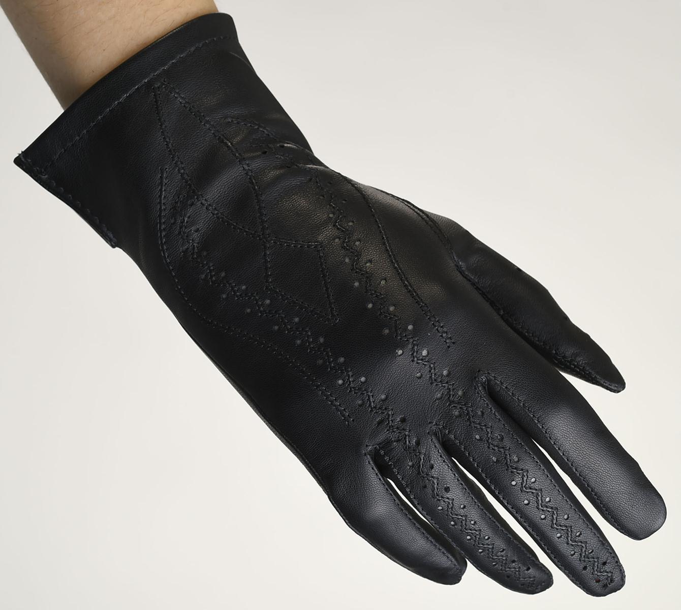 Mănuși din piele damă necăptușit AF181FMO