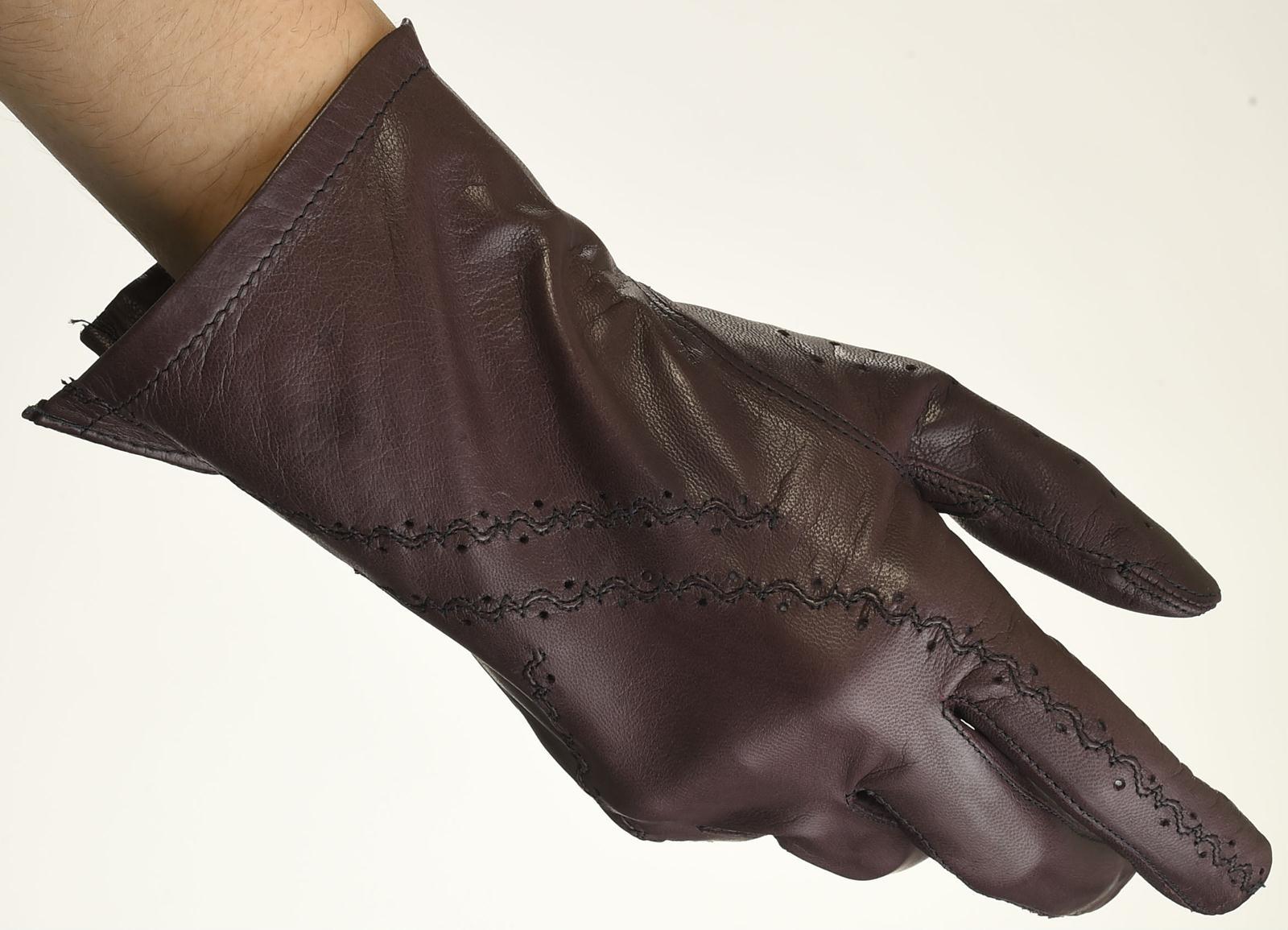 Mănuși din piele damă necăptușit AF181LI