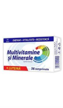 Multivitamine și minerale + luteină - Zdrovit