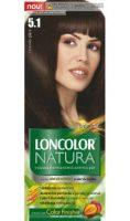 Vopsea de păr Natura 5.1 Castaniu Glace - Loncolor