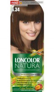 Vopsea de păr Natura 6.34 Castaniu Alună - Loncolor