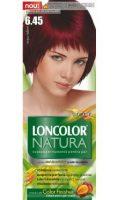 Vopsea de păr Natura 6.45 Roșu Rubin - Loncolor