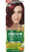 Vopsea de păr Natura 6.64 Roșu Burgund - Loncolor