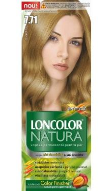 Vopsea de păr Natura 7.71 Blond Bej - Loncolor