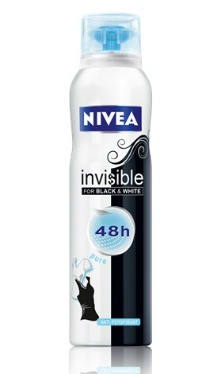 Deodorant Invisible Black & White Pure - Nivea