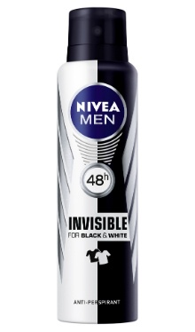 Deodorant Anti-perspirant Black & White - Nivea Men