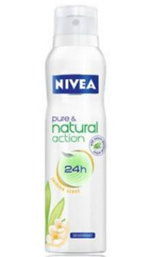 Deodorant Anti-perspirant Pure & Natural Action - Nivea