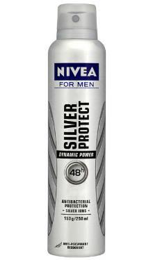 Deodorant Anti-perspirant Silver Protect - Nivea Men