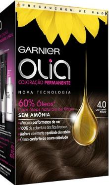 Vopsea de păr Olia 4.0 Dark Brown - Garnier