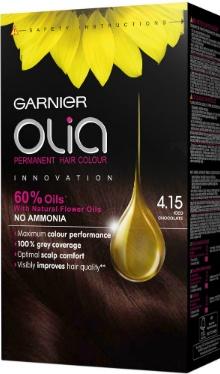 Vopsea de păr Olia 4.15 Șaten Glacial - Garnier