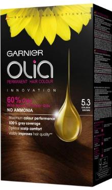 Vopsea de păr Olia 5.3 Golden Brown - Garnier