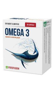 Omega3, capsule cu ulei de pește - Parapharm