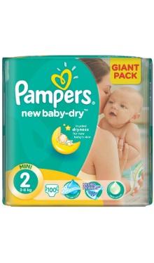 Scutece bebeluși Mini 2 - Pampers