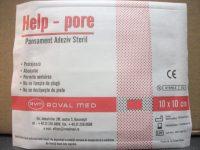 Pansament adeziv steril 10cm x 10cm - HelpPore