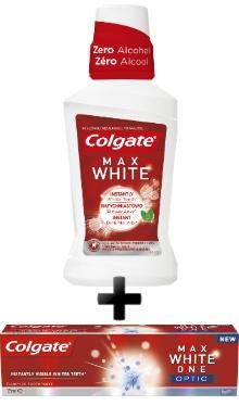 Pastă de dinţi + Apă de gură Max White One - Colgate