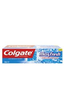 Pastă de dinţi - Colgate MaxFresh Coolmint Cristals