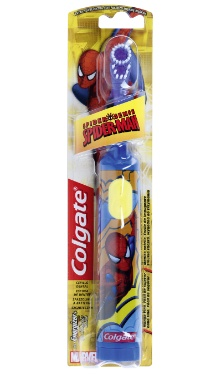Periuță de dinți cu baterii Spider Man - Colgate