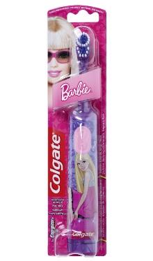 Periuță de dinți cu baterii Barbie - Colgate