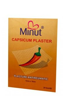 Plasture antireumatic - capsicum (cu ardei iute) - MINUT