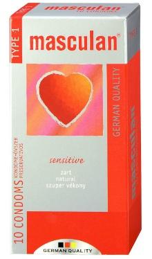 Prezervativ sensitive, nr.1 - Masculan
