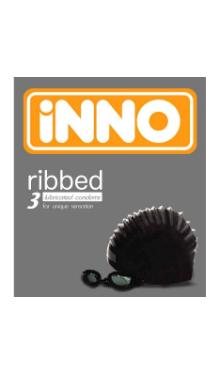 Prezervativ lubrifiat striat - Inno