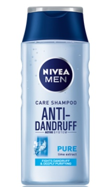 Șampon Anti-Mătreață Pure - Nivea Men