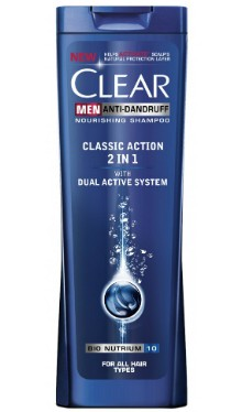 Şampon Classic Action 2 In 1 - Clear Men