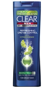 Şampon Refreshing Grease Control - Clear Men