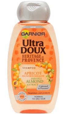 Șampon Ultra Doux Ulei de Migdale și Caise - Garnier