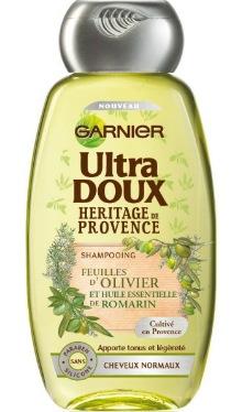 Șampon Ultra Doux Rozmarin și Frunze de Măslin – Garnier