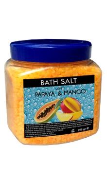 Sare de baie cu Papaya şi Mango