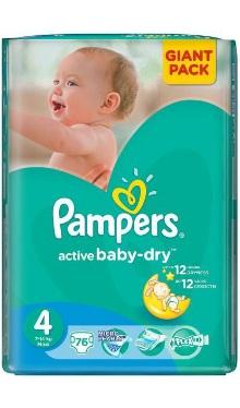 Scutece bebeluși Maxi 4 - Pampers